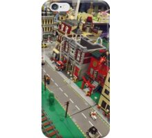 Lego Train, Lego Village, Greenberg's Train and Toy Show, Edison, New Jersey  iPhone Case/Skin