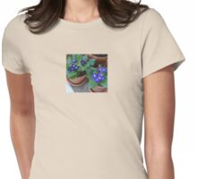 Periwinkle Primrose Womens Fitted T-Shirt