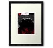 Vampire Scream Framed Print