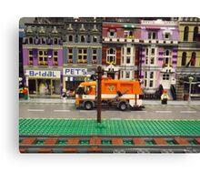 Lego Village, Greenberg's Train and Toy Show, Edison, New Jersey  Canvas Print