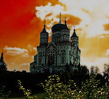 St Panteleimon Catedral by LudaNayvelt