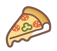 Slice Of Pizza Google Hangouts / Android Emoji by emoji