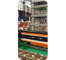 Lego Trains, Lego Buildings, Greenberg's Train and Toy Show, Edison, New Jersey  iPhone Case/Skin