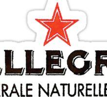 San Pellegrino Red Star Shirt Sticker