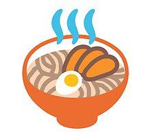 Steaming Bowl Google Hangouts / Android Emoji by emoji