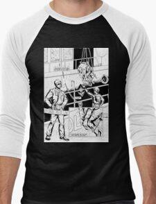 Vigil Pinup #1 Men's Baseball ¾ T-Shirt