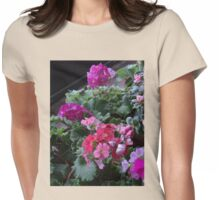 Pink Primrose Womens Fitted T-Shirt