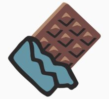 Chocolate Bar Google Hangouts / Android Emoji Kids Clothes