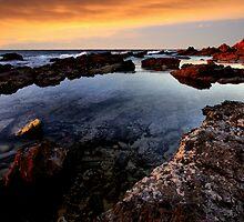 Sunset Pool by Varinia   - Globalphotos
