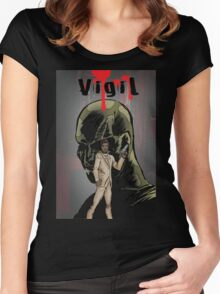 Vigil #1 cover t-shirt Women's Fitted Scoop T-Shirt