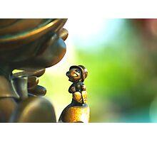 Bronze Pinocchio Photographic Print