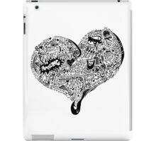 Heart Full love wins iPad Case/Skin