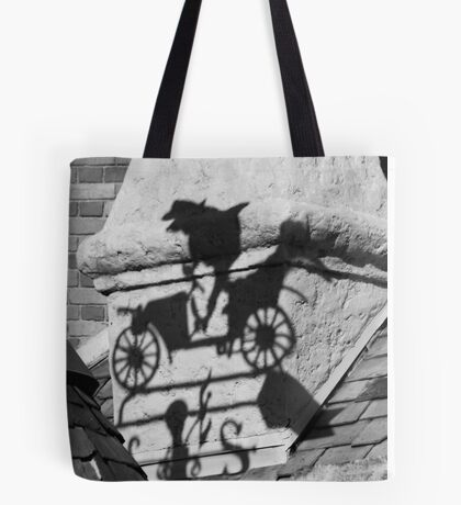 Mr. Toad's Shadow Tote Bag