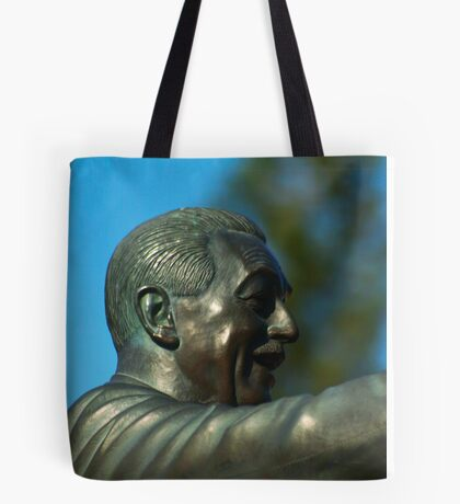 Over Looking The Park Tote Bag