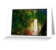Willow Weep for Me Greeting Card