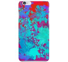 Fall dissolving into the wide blue iPhone Case/Skin