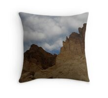 Golden Canyon, Death Valley Throw Pillow