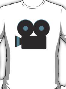 Movie Camera Google Hangouts / Android Emoji T-Shirt