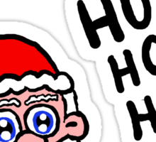 Santa and His Hos Sticker