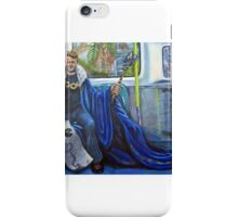 Napoleon on the Metro iPhone Case/Skin