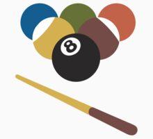 Billiards Google Hangouts / Android Emoji T-Shirt
