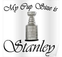 MY CUP SIZE IS STANLEY Poster