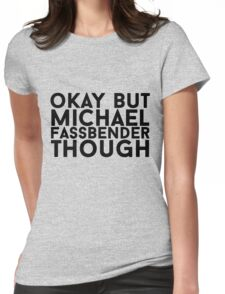 Michael Fassbender Womens Fitted T-Shirt