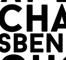 Michael Fassbender Sticker