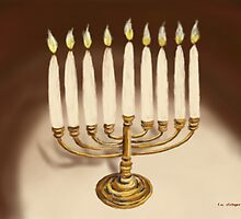 Hanukkuh Menorah by Tim Stringer