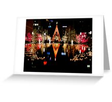 Twas Christmas at Temple Square Greeting Card