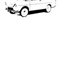 DAF 600 1958–63 by garts
