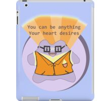 A positive ditto to brighten your day! iPad Case/Skin