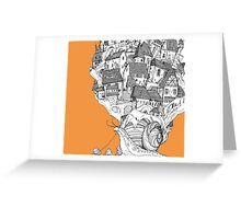 Snail House Greeting Card
