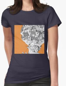 Snail House Womens Fitted T-Shirt