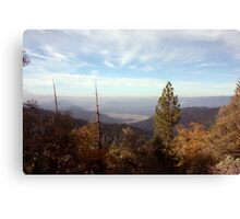 Sierra Foothills Canvas Print