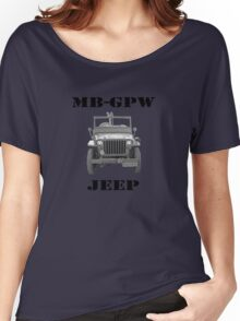 WW2 Jeep Women's Relaxed Fit T-Shirt
