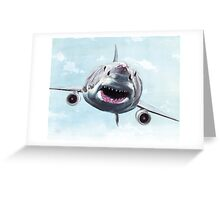 Great White Terrorist Greeting Card