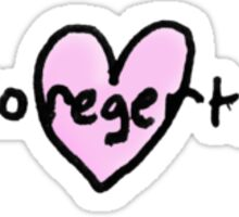 No regerts Sticker