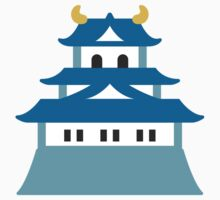 Japanese Castle Google Hangouts / Android Emoji Kids Clothes