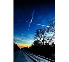 Trails Photographic Print