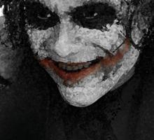 Joker in red Sticker
