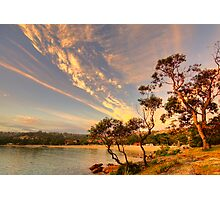 Face In The Sky - Balmoral Beach - The HDR Series Photographic Print