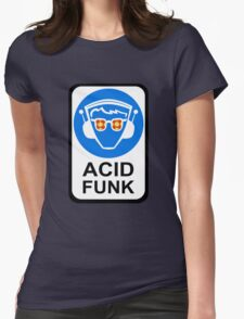 ACID FUNK Womens Fitted T-Shirt