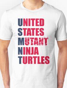 United States Mutant Ninja Turtles Shirt T-Shirt