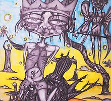 Psylocibic Snail Trek by Brad Shevellar