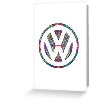 Volkswagen Bohemian Greeting Card
