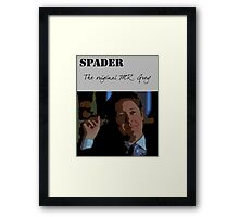James spader - The Original Mr Grey Framed Print