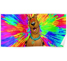 Scooby doo tripping out Poster