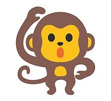 Monkey Google Hangouts / Android Emoji by emoji