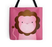 Peekaboo Pink Lion Tote Bag
